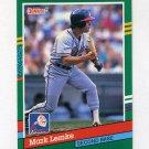 1991 Donruss Baseball #604 Mark Lemke - Atlanta Braves