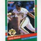 1991 Donruss Baseball #587 Gary Redus - Pittsburgh Pirates