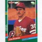 1991 Donruss Baseball #578 Joe Boever - Philadelphia Phillies
