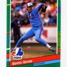 1991 Donruss Baseball #569 Kevin Gross - Montreal Expos
