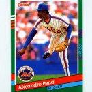 1991 Donruss Baseball #566 Alejandro Pena - New York Mets