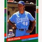 1991 Donruss Baseball #560 Mark Davis - Kansas City Royals