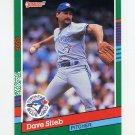 1991 Donruss Baseball #551 Dave Stieb - Toronto Blue Jays