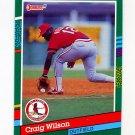1991 Donruss Baseball #544 Craig Wilson RC - St. Louis Cardinals