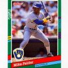 1991 Donruss Baseball #535 Mike Felder - Milwaukee Brewers