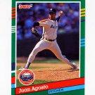 1991 Donruss Baseball #531 Juan Agosto - Houston Astros