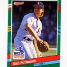 1991 Donruss Baseball #522 Ken Patterson - Chicago White Sox