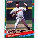 1991 Donruss Baseball #515 Craig Lefferts - San Diego Padres
