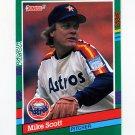1991 Donruss Baseball #483 Mike Scott - Houston Astros