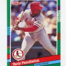 1991 Donruss Baseball #446 Terry Pendleton - St. Louis Cardinals