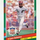 1991 Donruss Baseball #434 Len Dykstra AS - Philadelphia Phillies