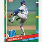 1991 Donruss Baseball #426 Rich DeLucia RR RC - Seattle Mariners