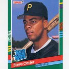 1991 Donruss Baseball #418 Steve Carter RR - Pittsburgh Pirates