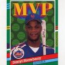 1991 Donruss Baseball #408 Darryl Strawberry MVP - New York Mets