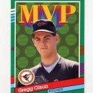 1991 Donruss Baseball #393 Gregg Olson MVP - Baltimore Orioles