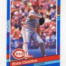 1991 Donruss Baseball #384 Norm Charlton - Cincinnati Reds
