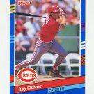 1991 Donruss Baseball #381 Joe Oliver - Cincinnati Reds