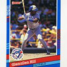 1991 Donruss Baseball #380 Glenallen Hill - Toronto Blue Jays