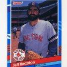 1991 Donruss Baseball #369 Jeff Reardon - Boston Red Sox