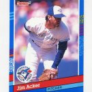 1991 Donruss Baseball #368 Jim Acker - Toronto Blue Jays