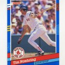 1991 Donruss Baseball #367 Tim Naehring - Boston Red Sox
