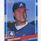 1991 Donruss Baseball #361 Mark Grant - Atlanta Braves