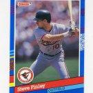 1991 Donruss Baseball #355 Steve Finley - Baltimore Orioles