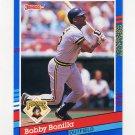 1991 Donruss Baseball #325 Bobby Bonilla - Pittsburgh Pirates