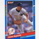1991 Donruss Baseball #275 Dave Righetti - New York Yankees