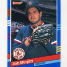 1991 Donruss Baseball #250 Rob Murphy - Boston Red Sox