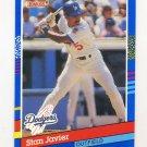 1991 Donruss Baseball #239 Stan Javier - Los Angeles Dodgers