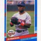 1991 Donruss Baseball #208 Al Newman - Minnesota Twins