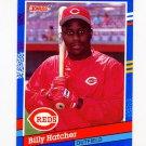 1991 Donruss Baseball #196 Billy Hatcher - Cincinnati Reds