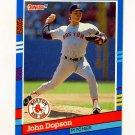 1991 Donruss Baseball #193 John Dopson - Boston Red Sox