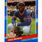 1991 Donruss Baseball #162 Jerry Browne - Cleveland Indians