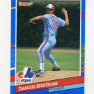 1991 Donruss Baseball #139 Dennis Martinez - Montreal Expos