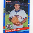 1991 Donruss Baseball #133 Lance McCullers - Detroit Tigers