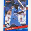 1991 Donruss Baseball #130 Gerald Perry - Kansas City Royals