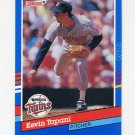 1991 Donruss Baseball #116 Kevin Tapani - Minnesota Twins