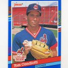 1991 Donruss Baseball #115 Tom Candiotti - Cleveland Indians