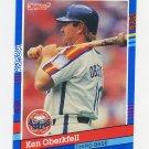 1991 Donruss Baseball #109 Ken Oberkfell - Houston Astros