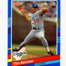 1991 Donruss Baseball #070 Tim Belcher - Los Angeles Dodgers