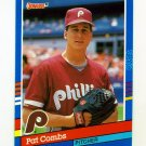 1991 Donruss Baseball #060 Pat Combs - Philadelphia Phillies