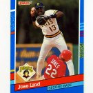 1991 Donruss Baseball #058 Jose Lind - Pittsburgh Pirates