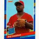 1991 Donruss Baseball #043 Ray Lankford RR - St. Louis Cardinals