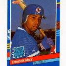 1991 Donruss Baseball #036 Derrick May RR - Chicago Cubs