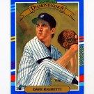 1991 Donruss Baseball #021 Dave Righetti DK - New York Yankees