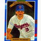 1991 Donruss Baseball #019 Rafael Palmeiro DK - Texas Rangers ExMt