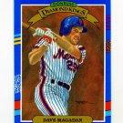1991 Donruss Baseball #017 Dave Magadan DK - New York Mets