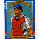 1991 Donruss Baseball #013 Sandy Alomar Jr. DK - Cleveland Indians